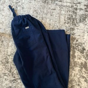 FIGS scrub pants - navy blue